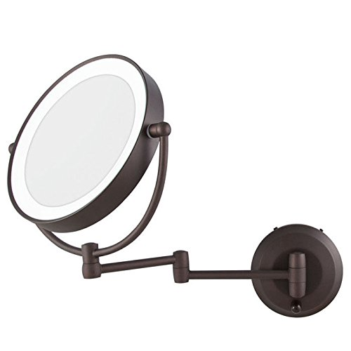 New Zadro Led Lighted Cordless Round Double Sided Wall