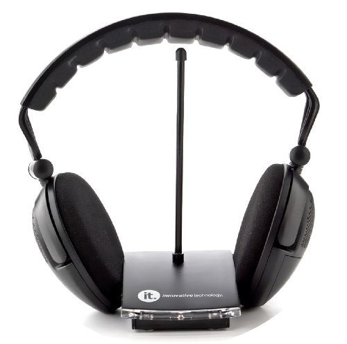 Innovative Technology Wireless Headphones - Black (ITHW-858B) photo