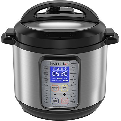 Instant Pot 6-Qt Duo Plus 9-in-1 Multi-Functional Pressure Cooker - Great Gift Idea