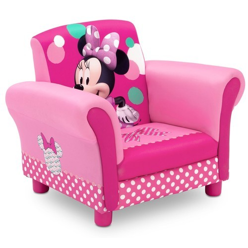 Disney Kids' Minnie Mouse Upholstered Armchair - Pink ...