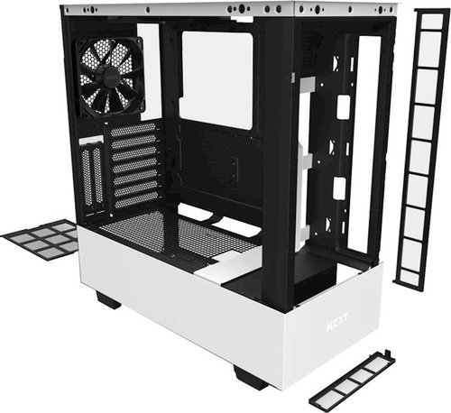Nzxt H510 Elite Premium Mid Tower Atx Case Pc Gaming Case Black Check Back Soon Blinq