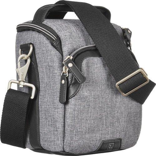 Platinum Metropolitan Camera Shoulder Bag - Gray/Black