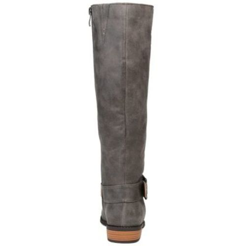 Journee Collection Women's Winona Boot - Gray - Size: 7.5