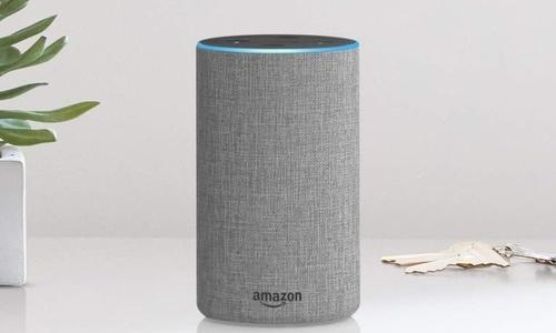Amazon 2nd Gen Echo Voice Controlled Speaker with Alexa - Heather Gray