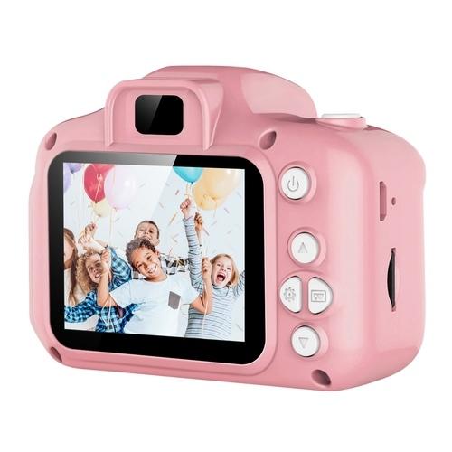 iMounTEK 12MP Digital Camera 4X Digital Zoom - Pink (T2043)