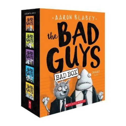 The Bad Guys Box Book Set Books Paperback Aaron Blabey - 2018 Readerlink - Great Gift Idea