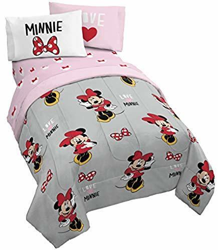 Minnie Mouse Bed In A Bag Gray Size Twin Check Back Soon Blinq