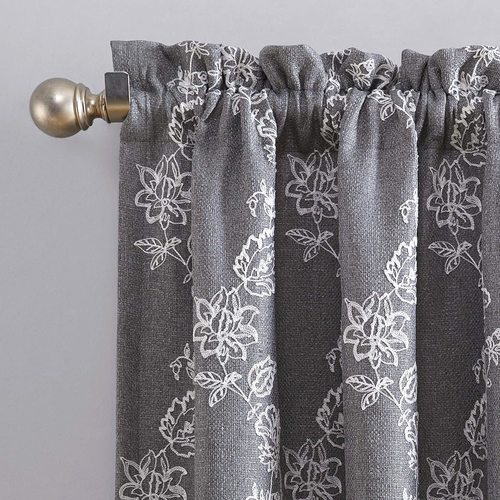 NEW Sun Zero Laurita 100% Blackout Curtain Panel
