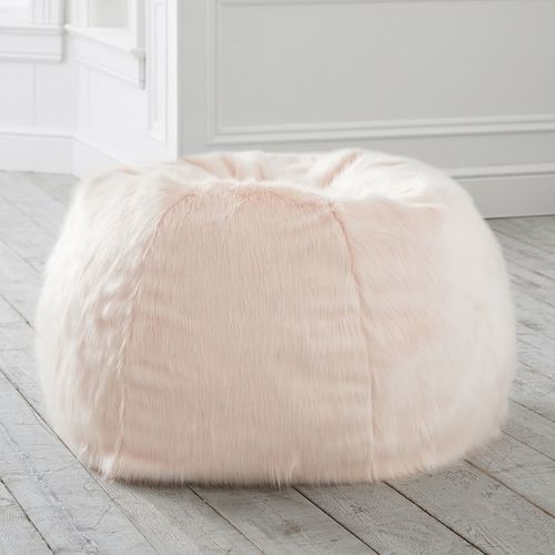 Pottery Barn Teen Silver Peony Bean Bag Chair Slipcover Size Large Check Back Soon Blinq