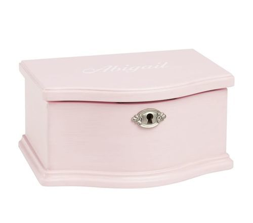 Pottery Barn Kids Abigail Jewelry Box Pink Size Large Check Back Soon Blinq